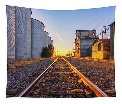 Wilson's Golden Rails Tapestry