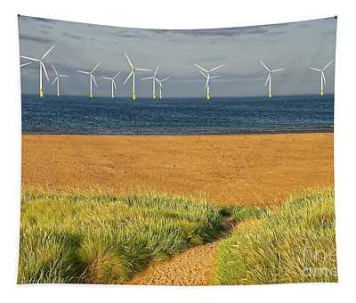 Wind Farm Off Shore Tapestry