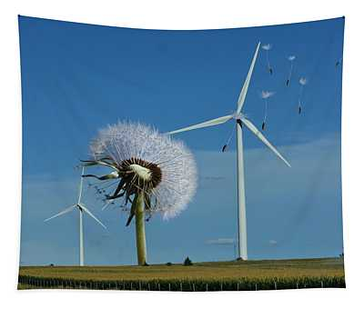 Wind Power Tapestry
