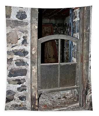 Window Below Tapestry