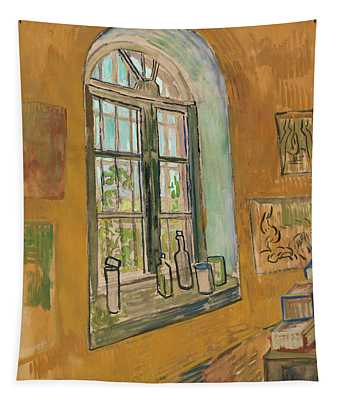 Window In The Studio Tapestry