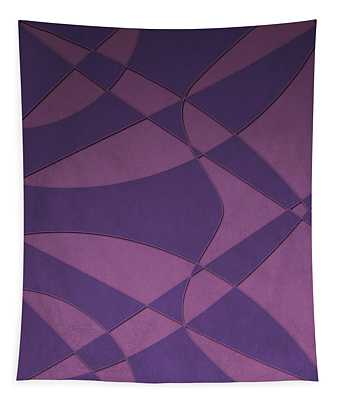 Wings And Sails - Purple And Pink Tapestry