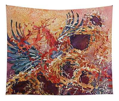 Wings Of Home Empty Nest IIi Tapestry