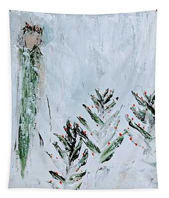 Winter Angel Tapestry