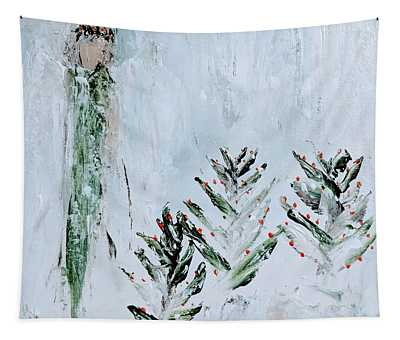 Winter Angel Tapestry