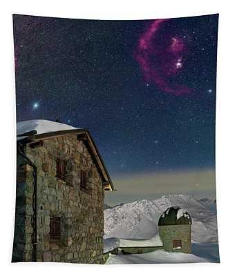Winter Bounty Tapestry