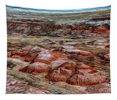 Winter Colors Of The Painted Desert Tapestry