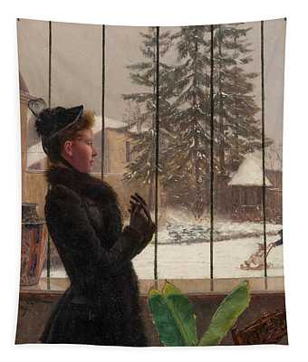 Winter Fun Tapestry