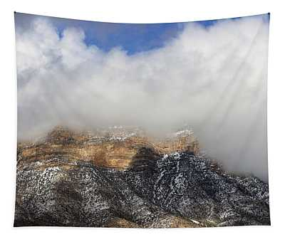 Winter In Red Rock Tapestry