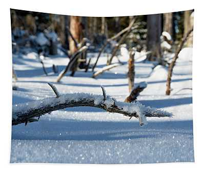 Winter In The Upper Harz Tapestry