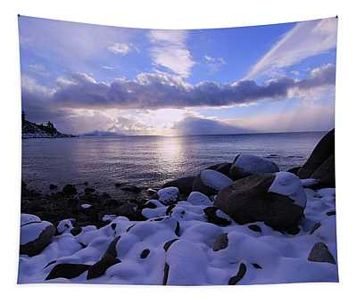 Winter Perspective  Tapestry