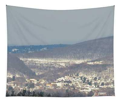 Winter Scene - Pocono Mountains Tapestry