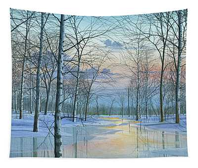 Winter Spectacle Tapestry
