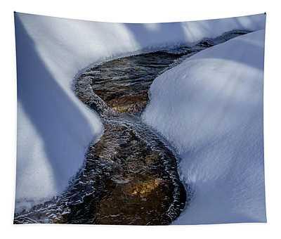 Winter Stream. Tapestry