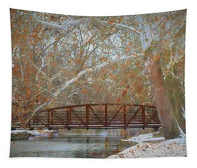 Winter Sycamores Tapestry