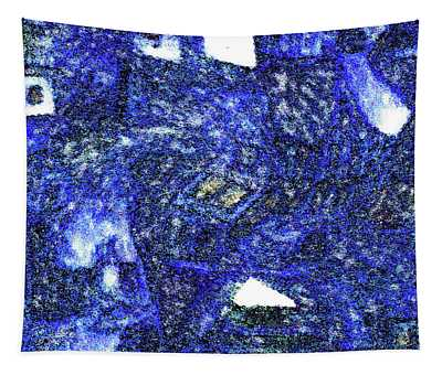 Winter Town Tapestry