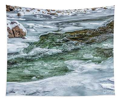 Winter View Williams River Tapestry