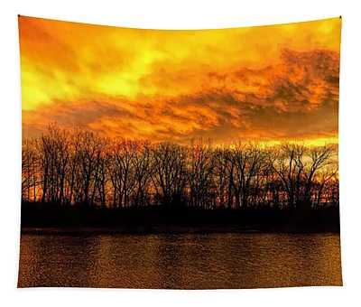 Winter Warmth Tapestry
