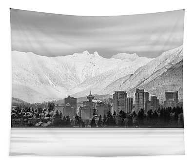 Winterscape Vancouver Tapestry