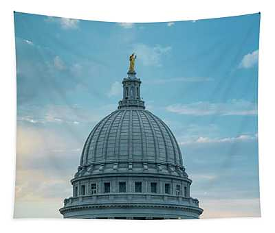 Wisconsin State Capital Dome Tapestry
