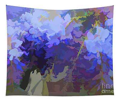 Wisteria Colours Tapestry