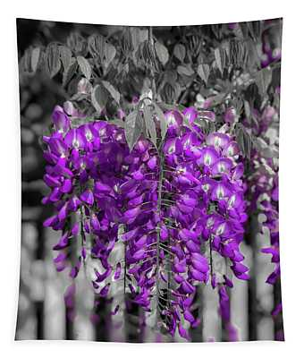 Wisteria Falling Tapestry
