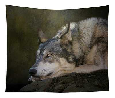 Wolf Watch Tapestry