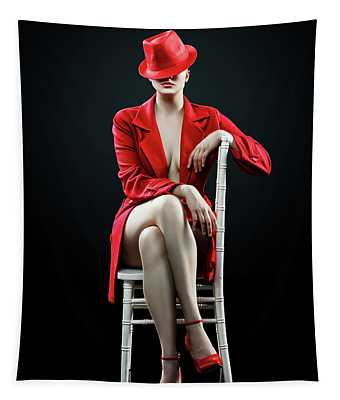 Glamour Girl Wall Tapestries