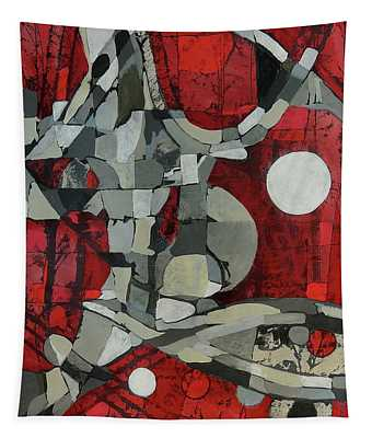Woman Man Woman Tapestry