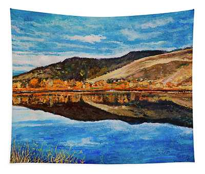 Wonderland Lake Tapestry