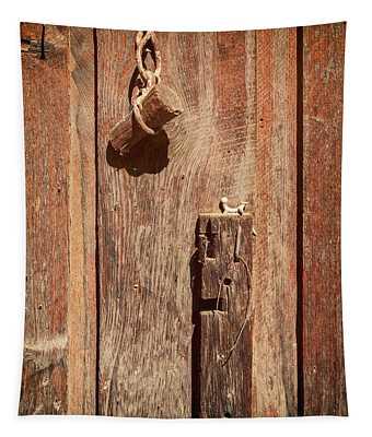 Wood Plug Hardware Tapestry