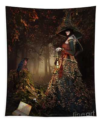 Wood Witch Tapestry