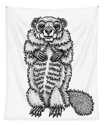 Woodchuck Tapestry