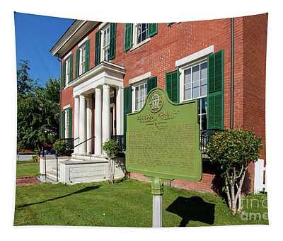 Woodrow Wilson Boyhood Home - Augusta Ga 1 Tapestry