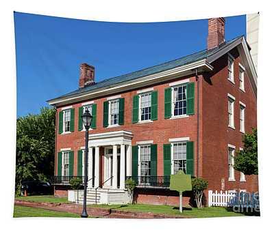 Woodrow Wilson Boyhood Home - Augusta Ga 3 Tapestry