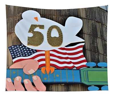 Woodstock 50th Anniversary Tapestry