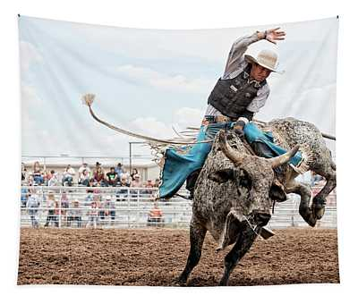 Working Rancher Rodeo Tapestry