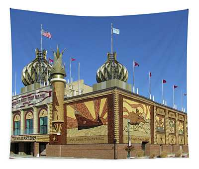Worlds Only Corn Palace 2018-19 Tapestry