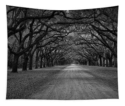 Wormsloe Plantation Trees Tapestry