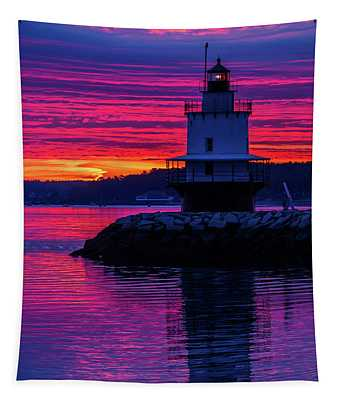 Wow Sunrise Tapestry