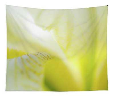 Yellow Iris 5 Tapestry