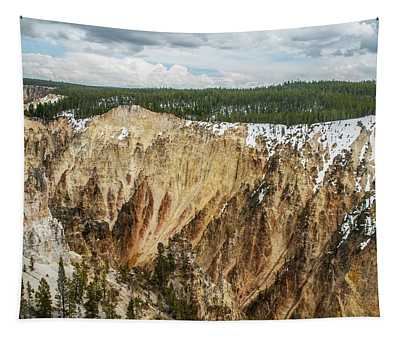 Yellowstone Canyon With Frosting Tapestry