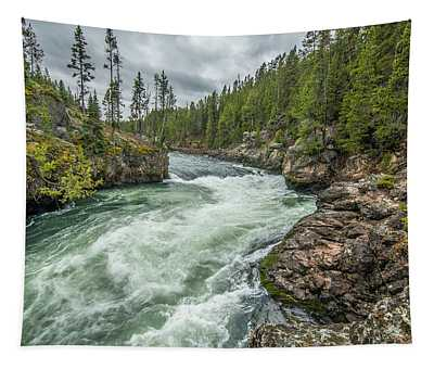 Yellowstone River Falling Tapestry