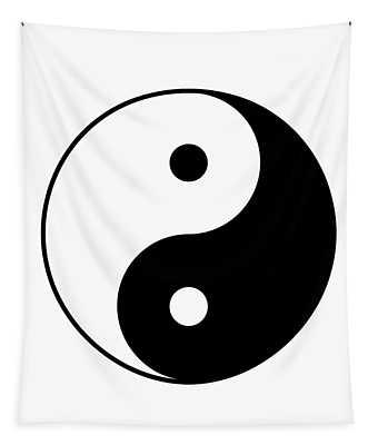 Yin And Yang Tapestry
