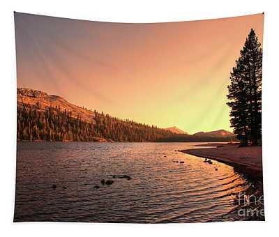 Yosemite National Park Sunset  Tapestry