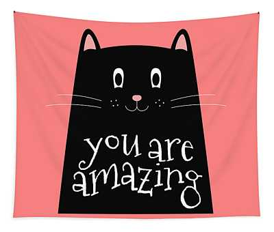 You Are Amazing - Baby Room Nursery Art Poster Print Tapestry
