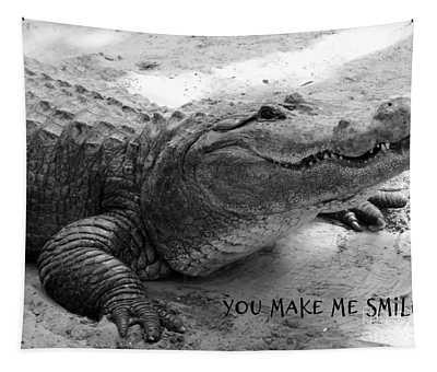 You Make Me Smile Tapestry