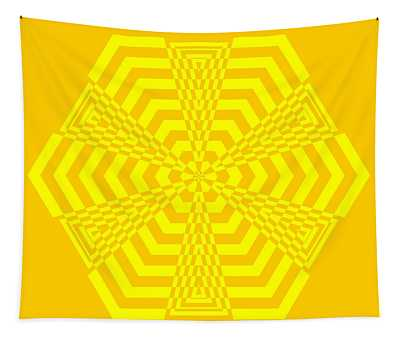 Young At Heart Yellow Tapestry