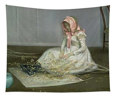 Young Girl, 1892 Tapestry