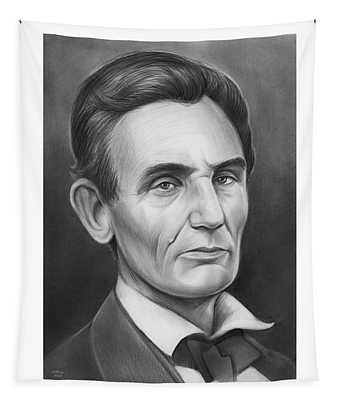 Young Lincoln Lawyer Tapestry